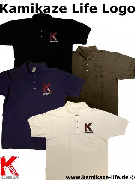 Kamikaze Life Logo Polo-Shirt