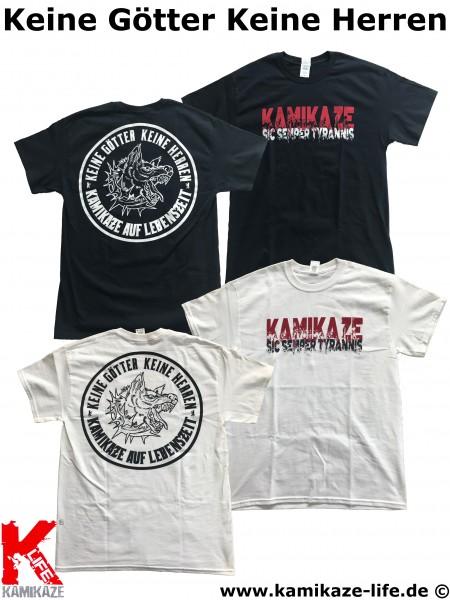 Kamikaze Life - Keine Götter Keine Herren T-Shirt