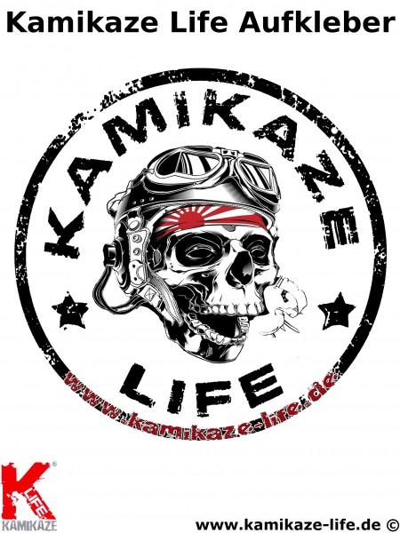 Kamikaze Life Aufkleber 148mm