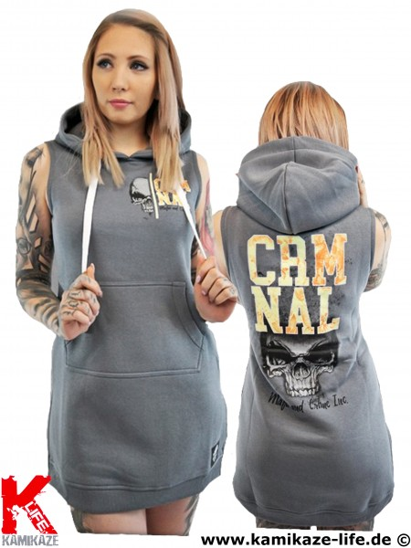 Mafia & Crime MC Criminal Hooded Dress Ladies